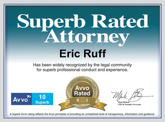 Gainesville Bankruptcy Superb Rated Attorney Eric Ruff