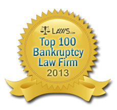 Top 100 Bankruptcy Law Firm Award to Eric S. RUff